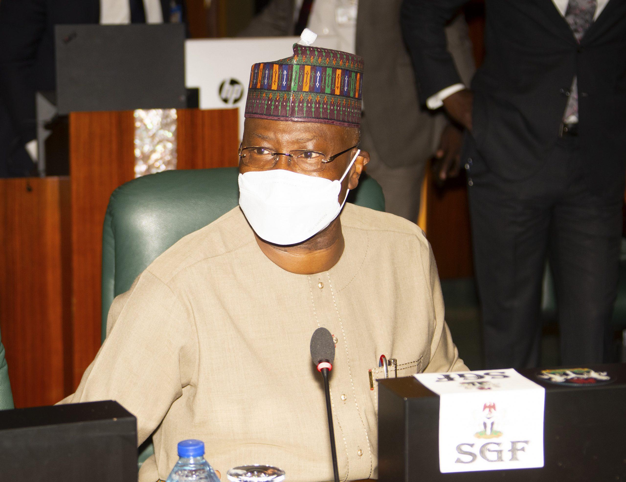 SGF Boss Mustapha inaugurates NEITI board members