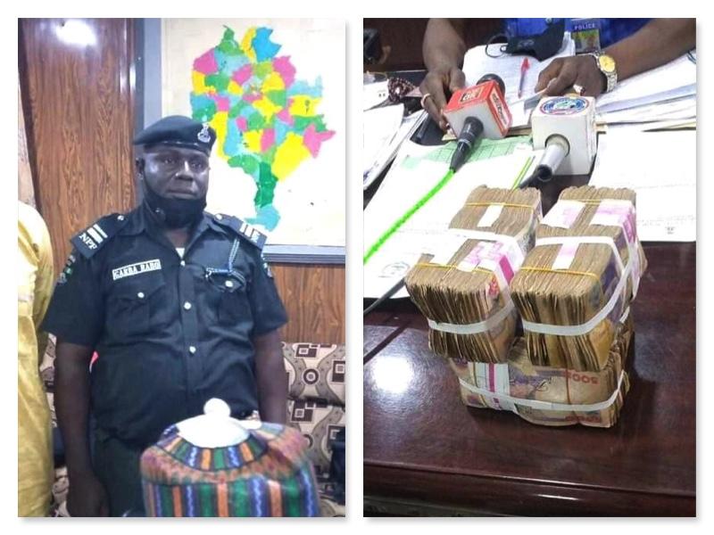 Police Inspector Garba Rabo rewarded for honesty