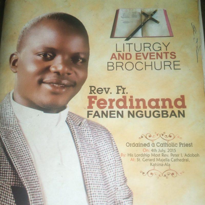 Rev. Fr. Ferdinand Ngugban