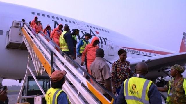 Some Nigerians trafficked to Libya returning to Nigeria in 2020
