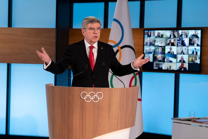 Thomas Bach re-elected for a second term