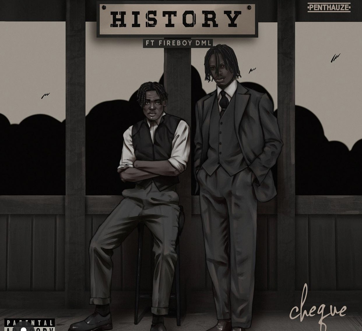 Fireboy and Cheque in new single 'History'