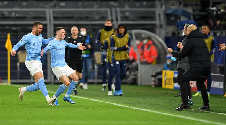 Manchester City reach Champions League Semi-final