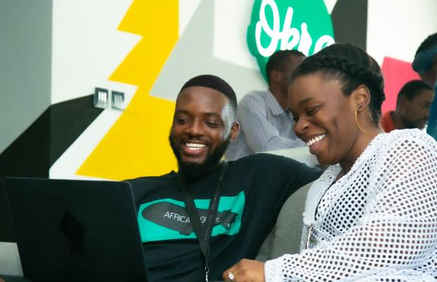 Fara Ashiru Jituboh and David Peterside founders of Okra