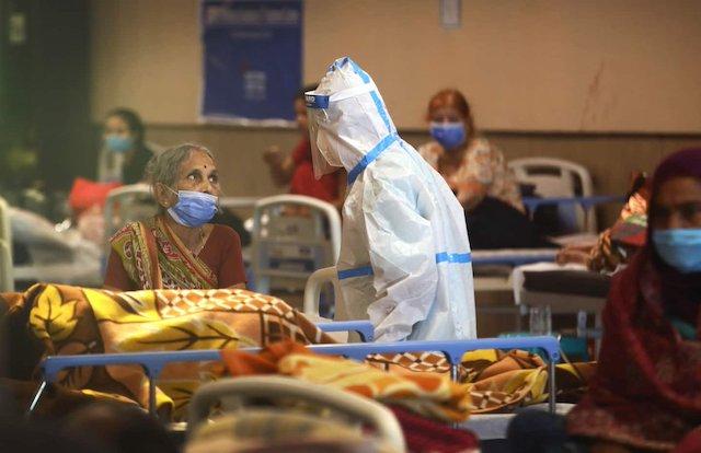 India faces critical COVID-19 crisis