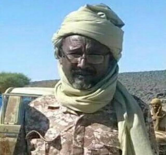 Mahdi Ali Mahamat head of the Chadian rebel group FACT