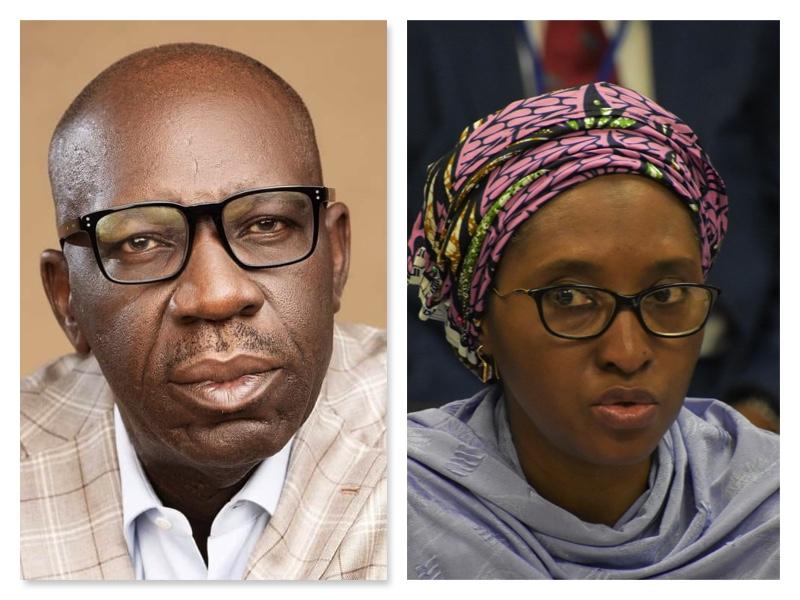 Obaseki and Zainab Ahmed