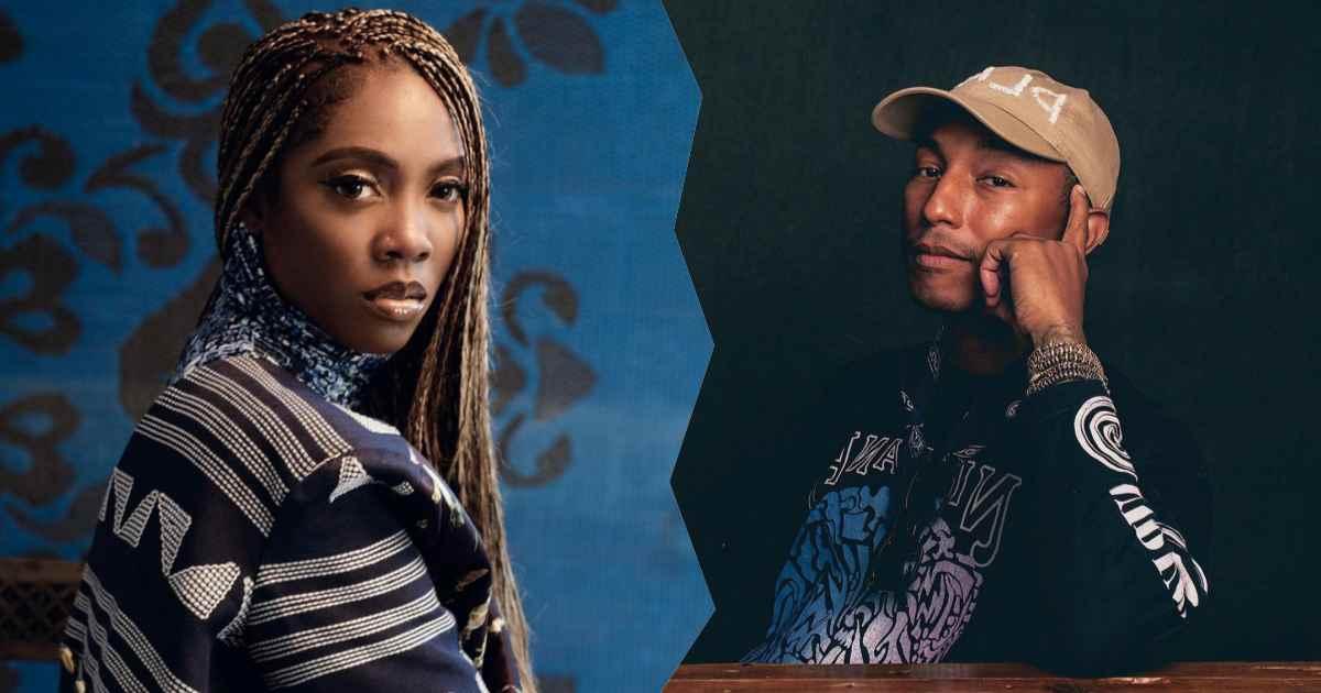 Pharrell-Williams-and-Tiwa-Savage