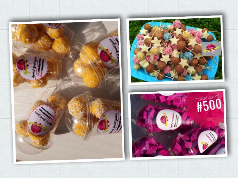 candy products of Ruqayya Yusuf