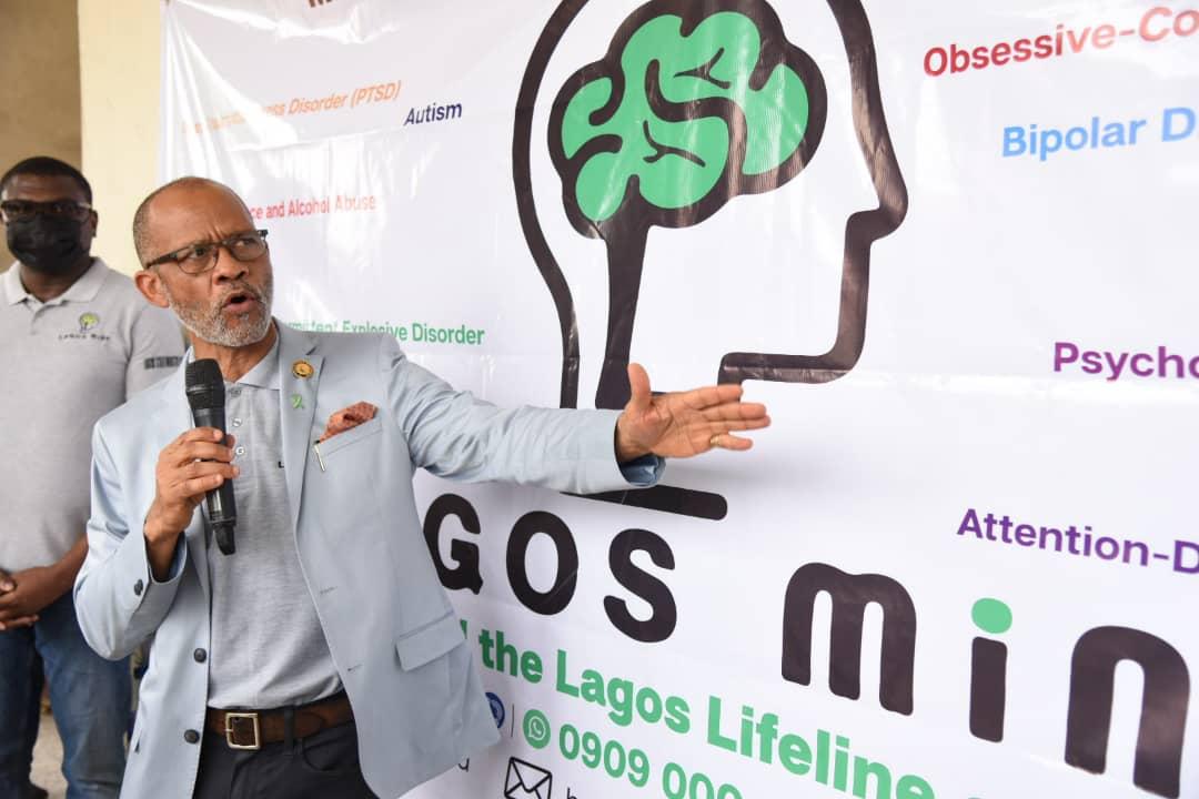 Commissioner for Health, Prof. Akin Abayomi