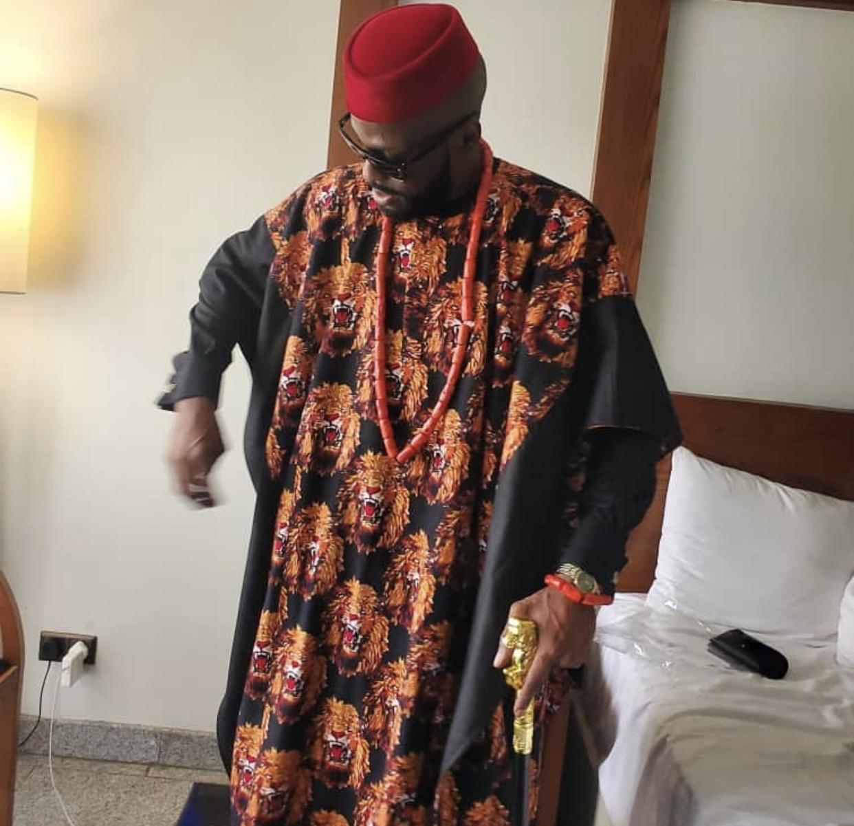 The groom Ikechkwu
