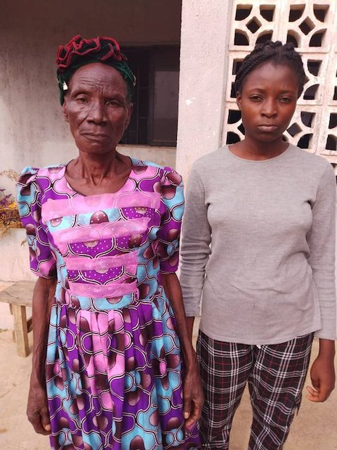 80 year-old grandma, Mary Adebayo, granddaughter arrested  by NDLEA with cocaine, heroin