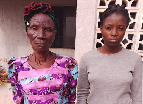 80 year-old grandma, daughter arrested with cocaine, heroin
