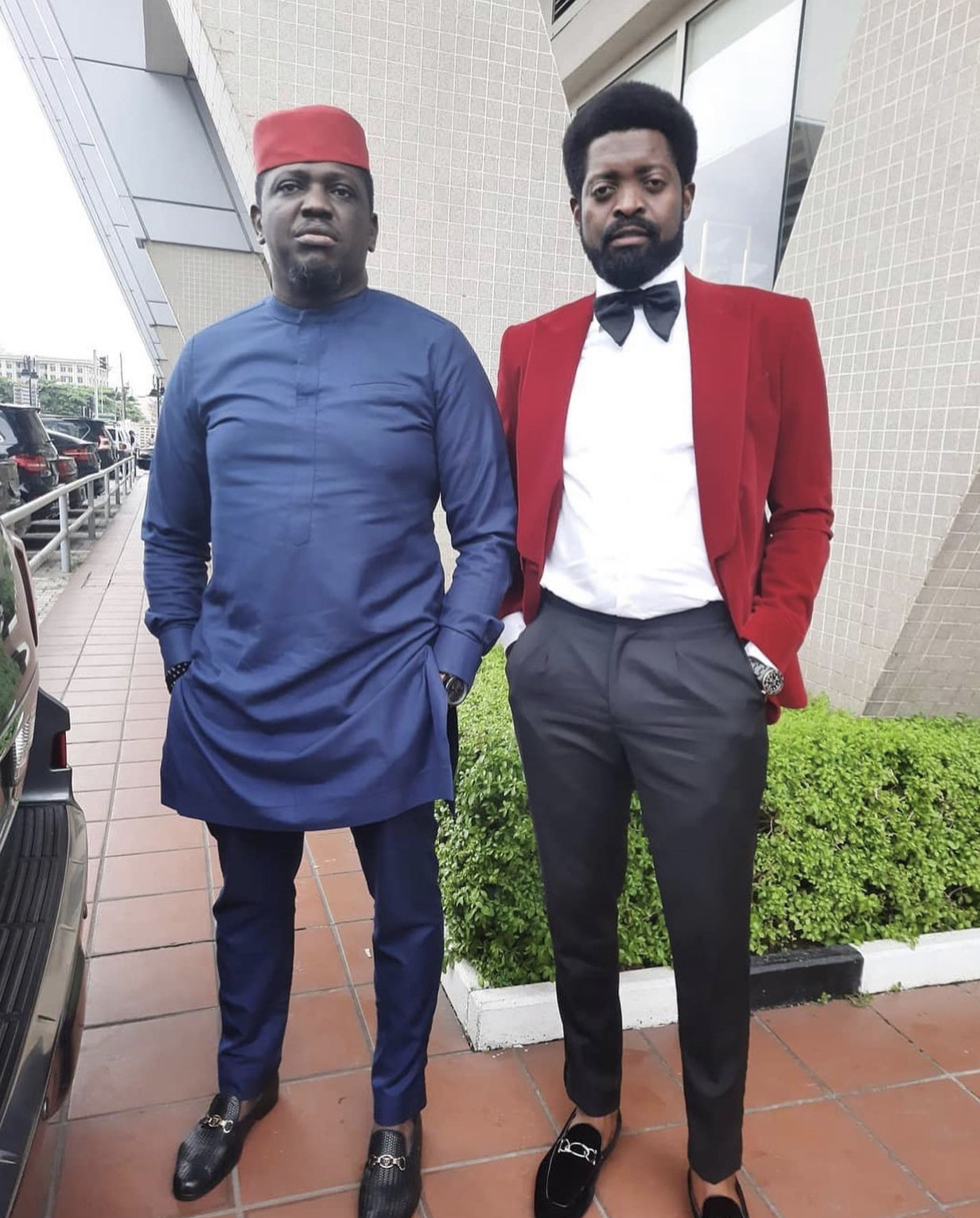 Ibliss and Basketmouth