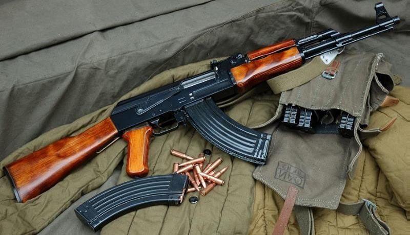 Ak-47 rifle