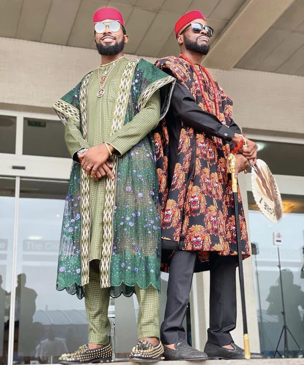 D'banj and Ikechukwu