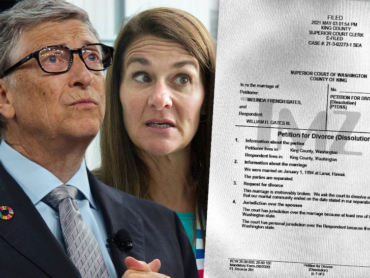 Bill Gates and Melinda French Gates divorce official