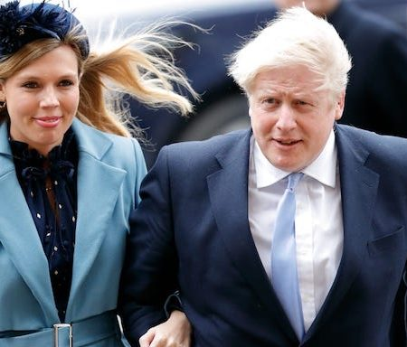 Boris Johnson and Carrie Symonds now married
