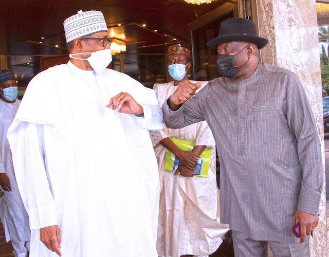 Buhari and Jonathan discuss Mali crisis