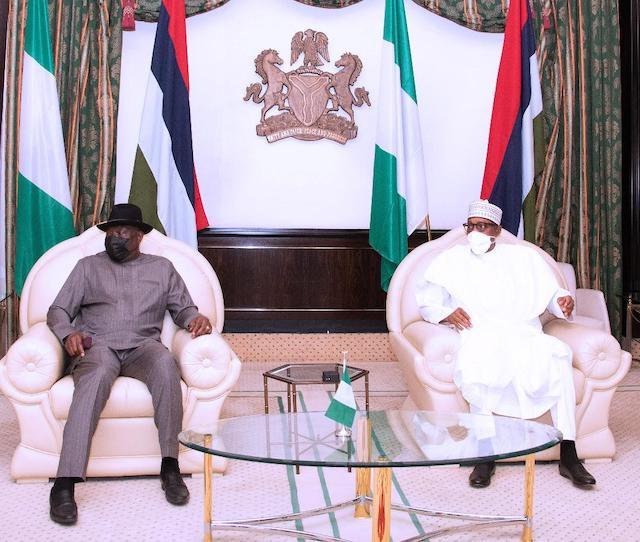 Buhari and Jonathan speak on Mali