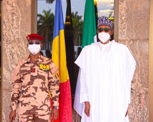 Buhari and Mahamat Deby