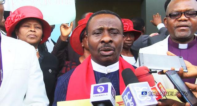 CAN President Rev. Ayokunle