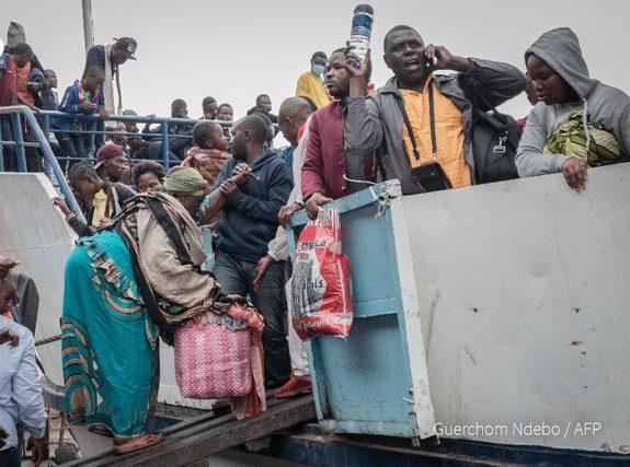 Exodus from  Goma as Mount Nyiragongo volcano threatens 2