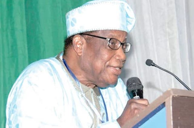Godwin Abumisi President of Nigerian Union of Pensioners