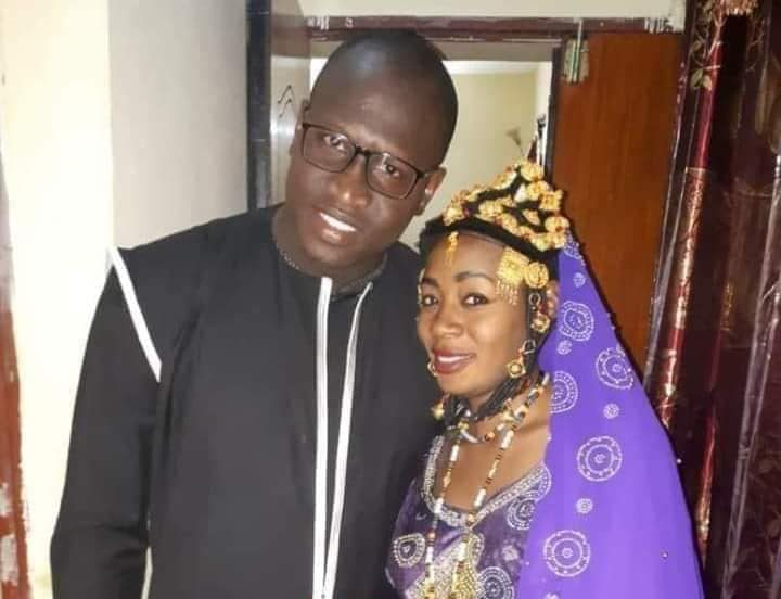 Halima Cisse, nonuplets mum and her husband Adjudant Kader Arby