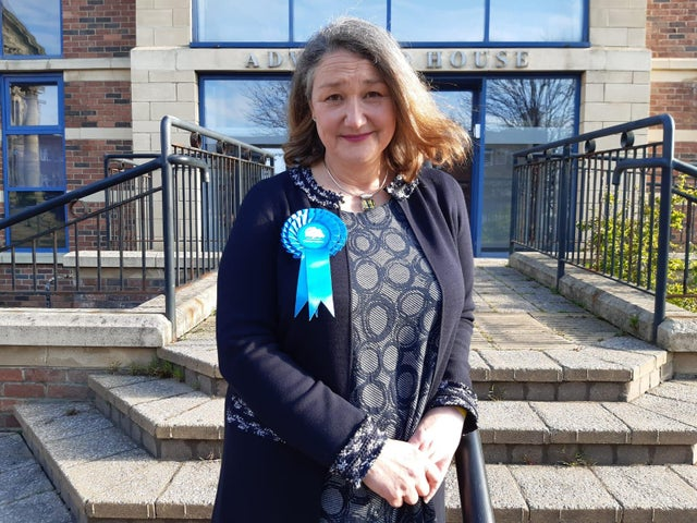 Jill Mortimer of Boris' Conservative party upsets UK Labour in Hartlepool