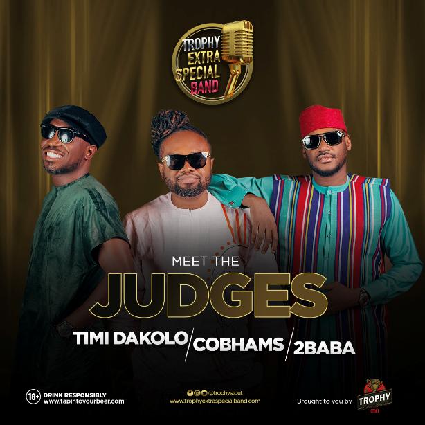 Judges – Timi Dakolo, Cobhams, 2Baba