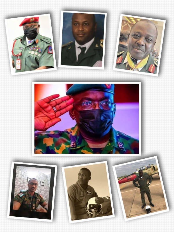 Lt. General Attahiru and other victims