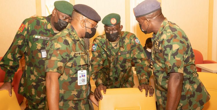 PRESIDENT BUHARI CONTINUES SECURITY BREIFING 9B