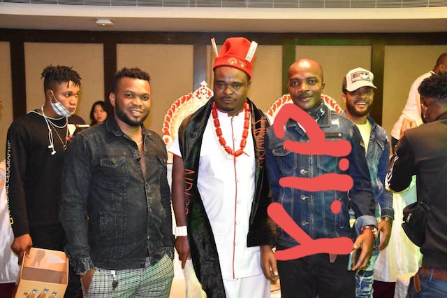 Peter Ofor marked in a group photo as RIP