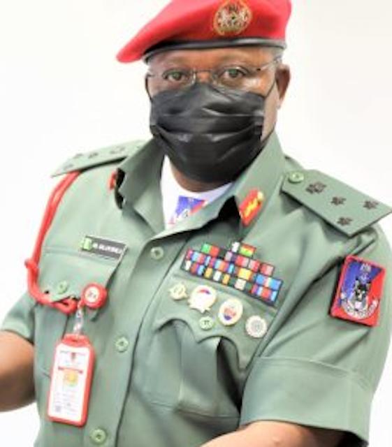 Provost Marshal Brigadier-General Olayinka