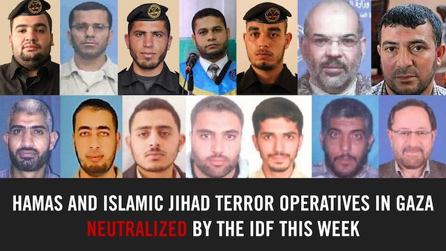 Some of the Hamas commanders that Israel claimed its bombers killed
