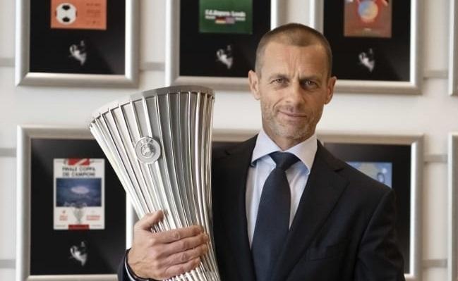 UEFA conference trophy