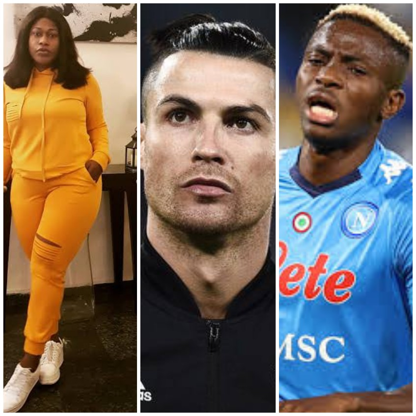 Uche Jombo, Ronaldo, Osimhen