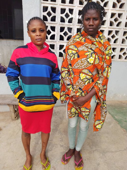 tessy Matthew, Blessing Adesida also arrested in Akure
