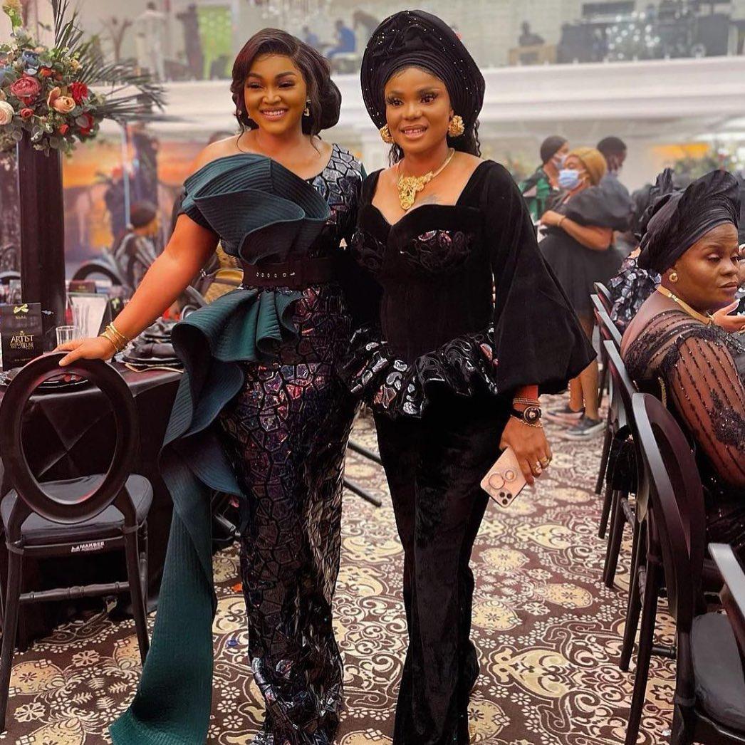 Mercy Aigbe and Iyabo Ojo