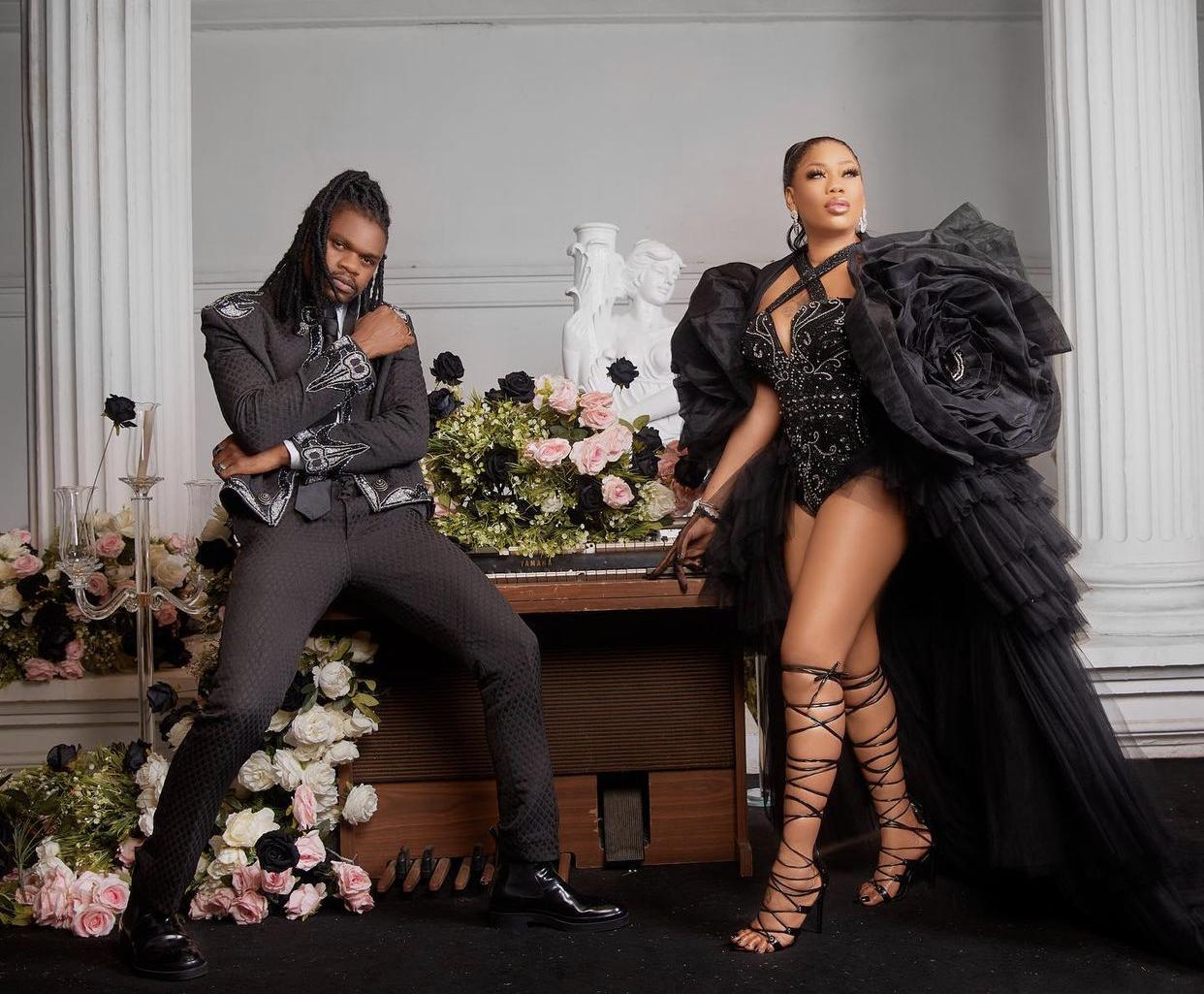 Toyin Lawani and Segun Wealth