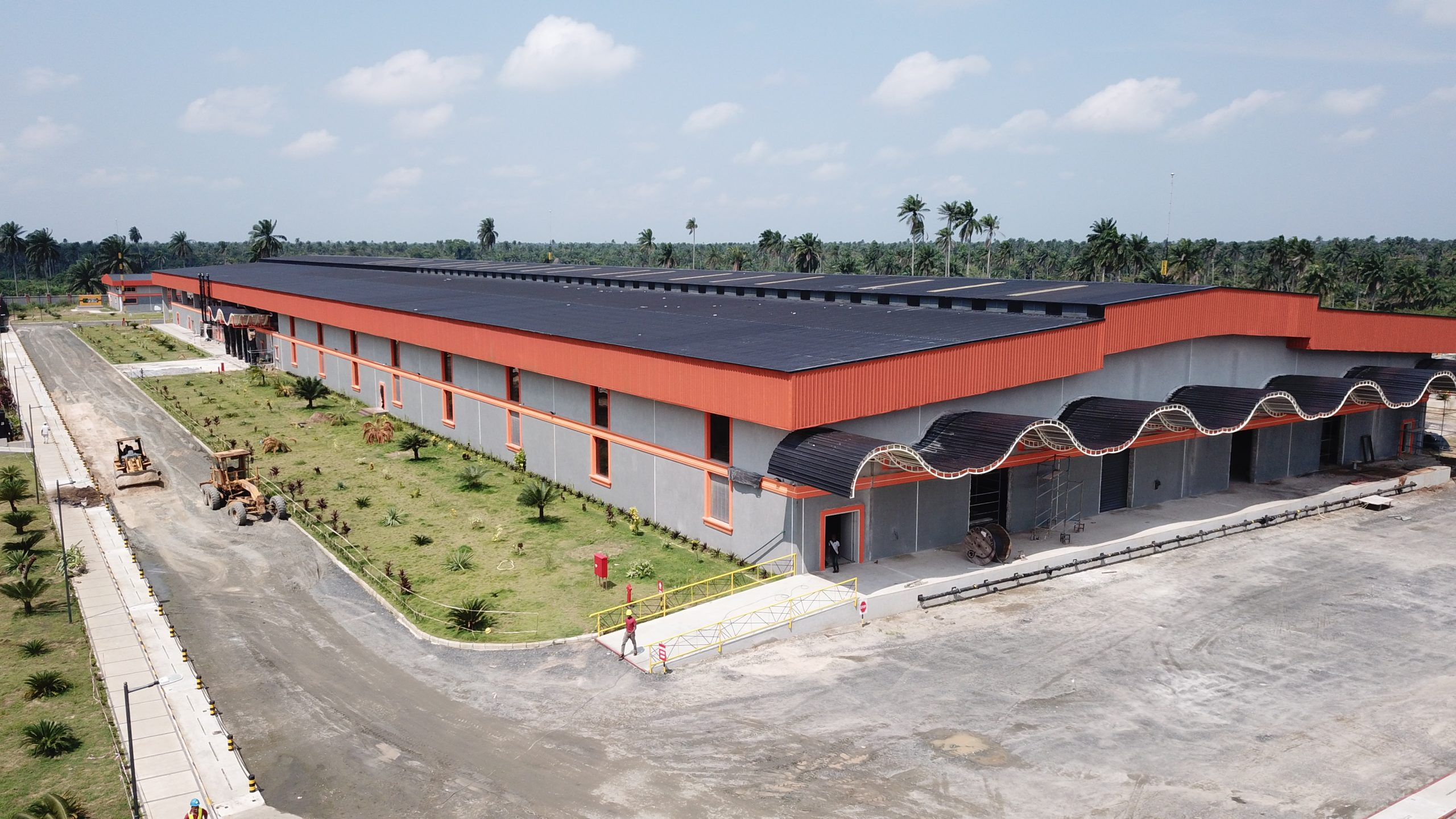 St. Gabriel Coconut Oil Factory nearing completion at Mkpat Enin