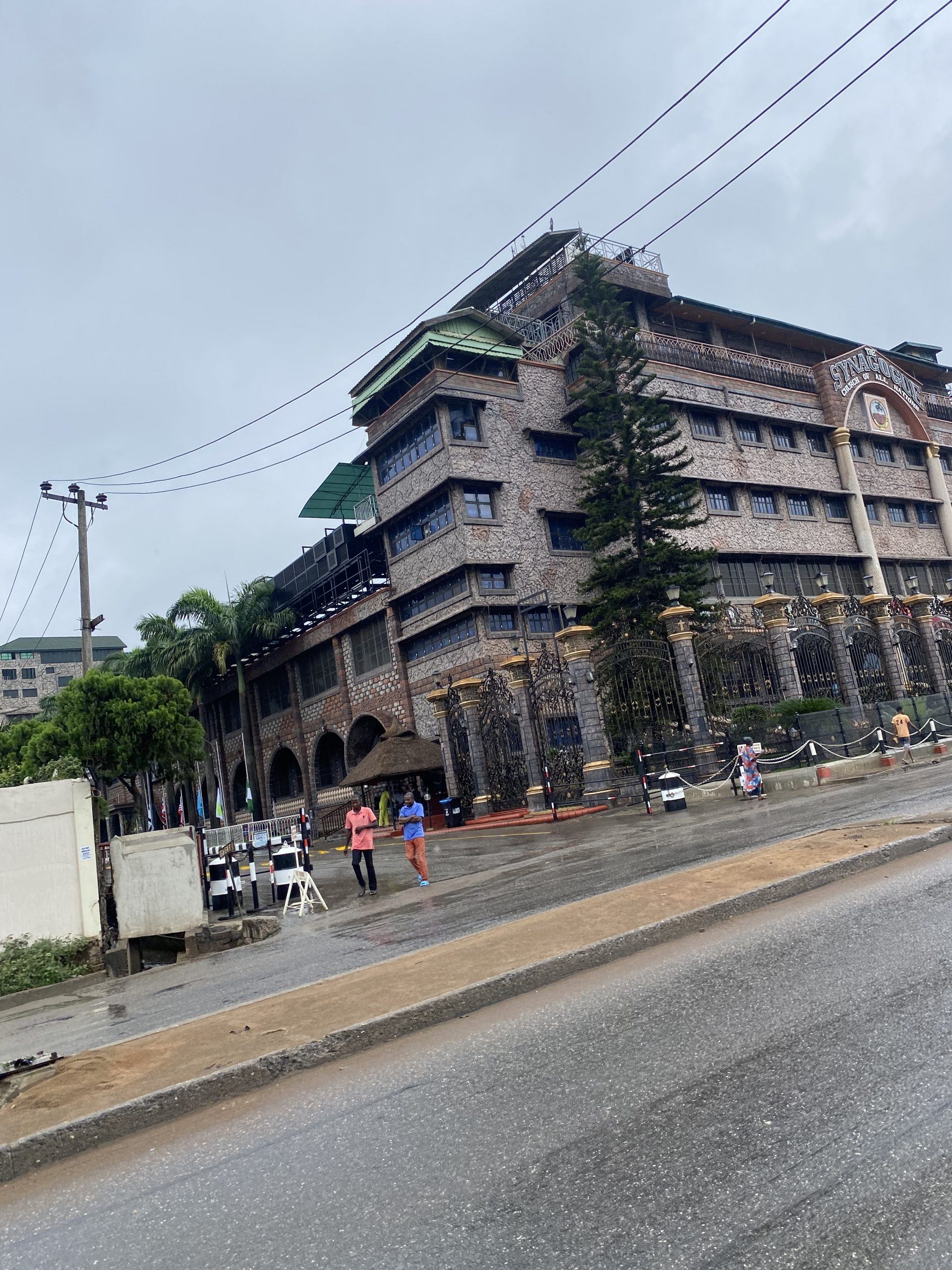 Deserted Synagogue Church of All Nations on Sunday morning - Photo by Taiwo Okanlawon