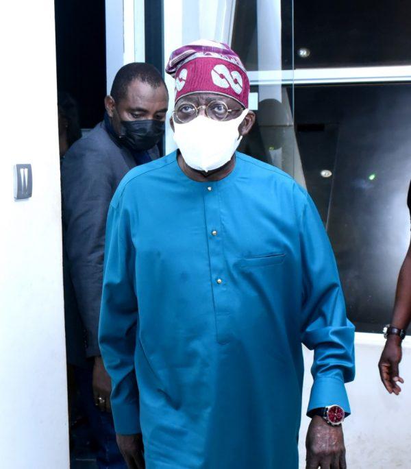 Tinubu arriving in Lagos on Tuesday night