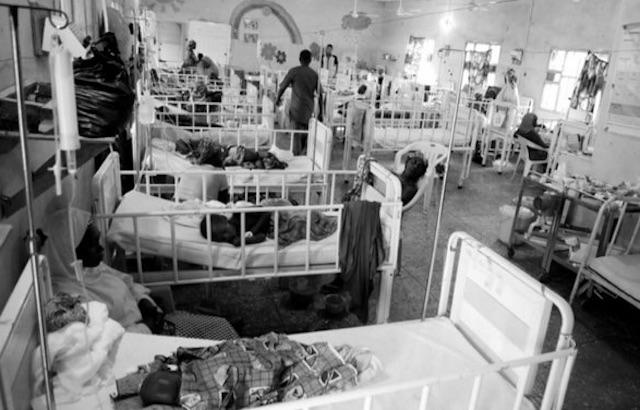 An MSF facility in Zamfara