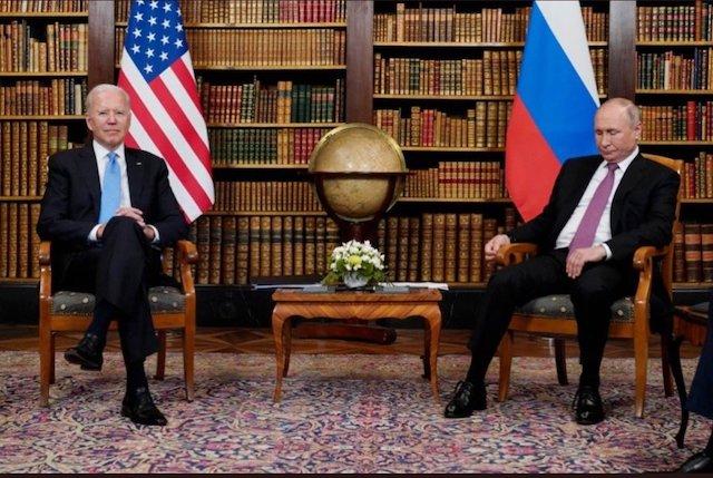 Biden and Putin in Geneva