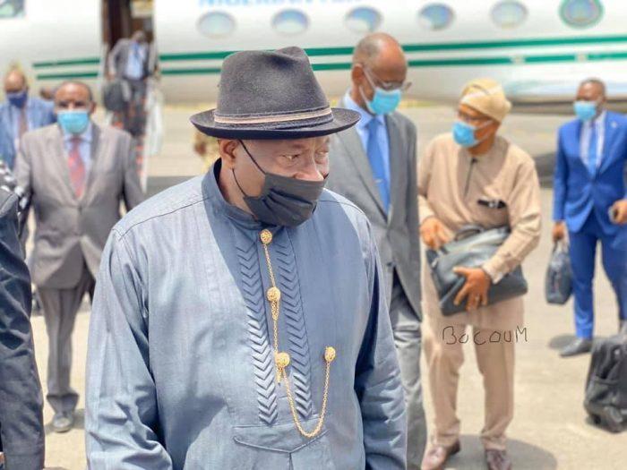 Ex-President Goodluck Jonathan arrives Bamako, Mali on Tuesday