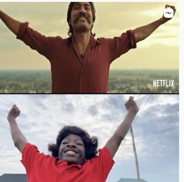 Ikorodu Bois create imitation trailer for Netflix Jagame Thandhiram film