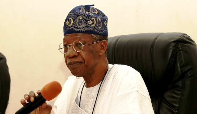 Lai Mohammed: we only suspended Twitter not Twitter accounts