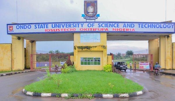 Olusegun Agagu University of Science and Technology (OAUSTECH), Okitipupa, Ondo state